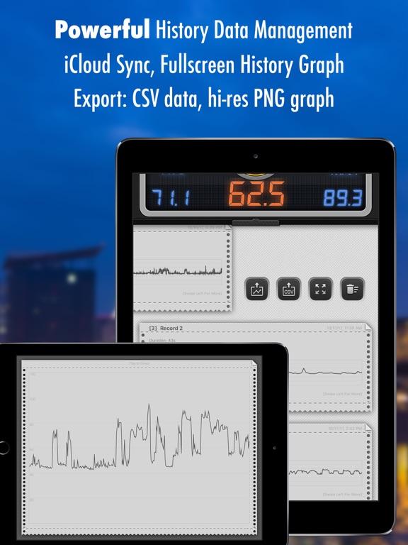 Screenshot #6 pour Décibel X PRO - dBA Sonomètre