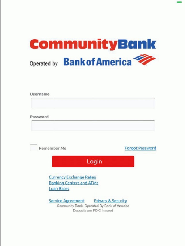 Dod Community Bank For Ipad On The