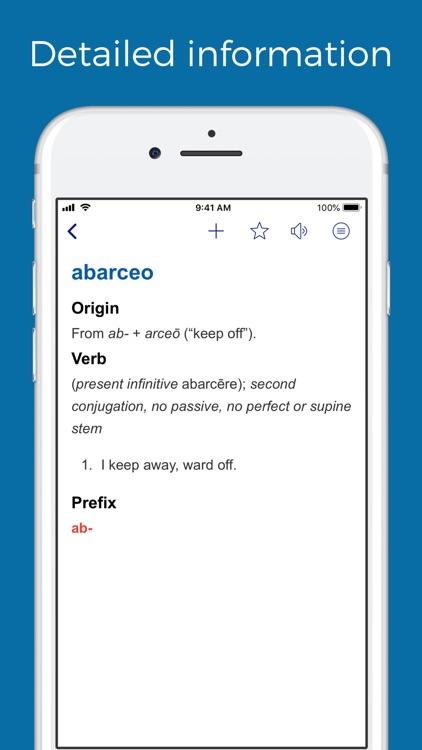 Latin prefixes and suffixes
