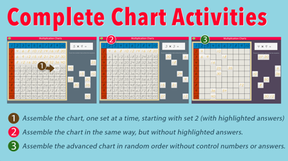 Multiplication Working Charts screenshot 6