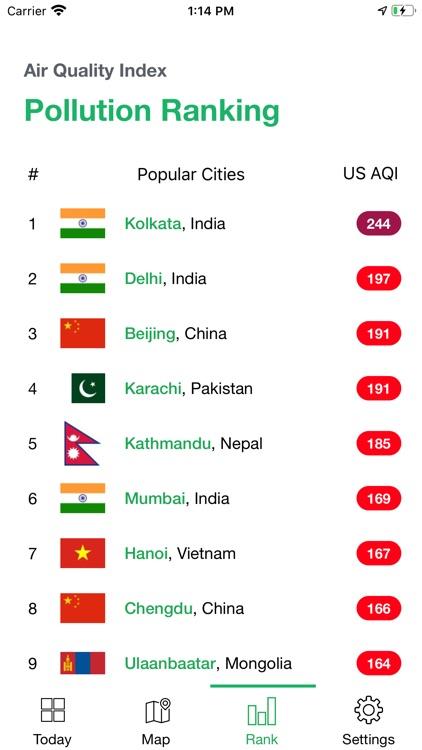 AirChecker, Air quality app screenshot-3