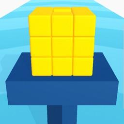 Cube Shower: Knock Color Block