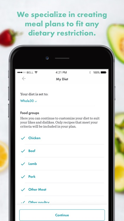 Real Plans - Meal Planner screenshot-3