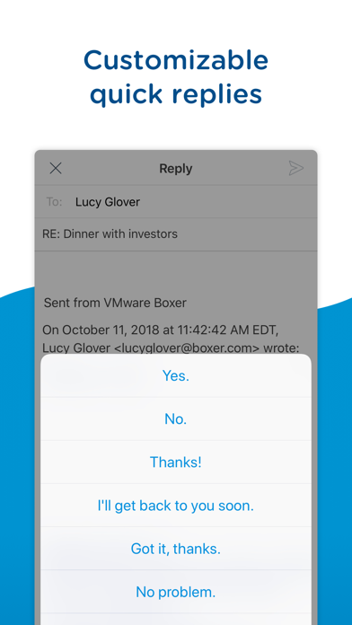 Boxer - Workspace ONEScreenshot von 7