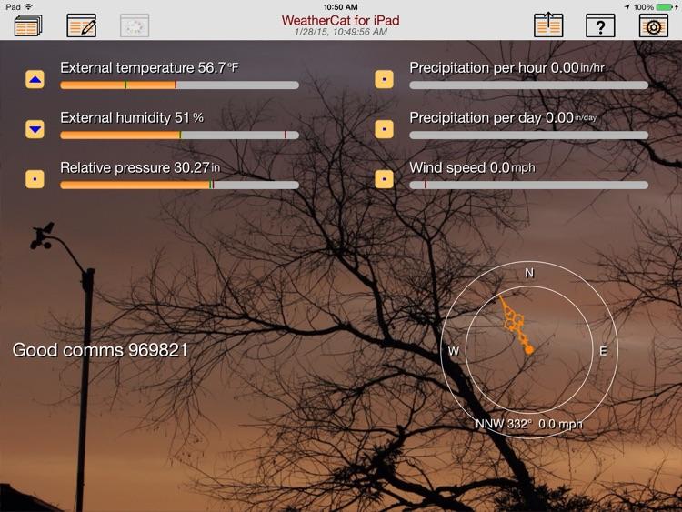 WeatherCatPad screenshot-3