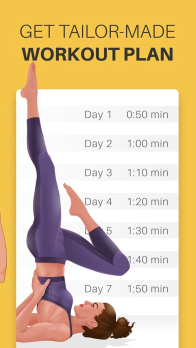 Screenshot for Yoga-Go: Weight Loss Workouts in Ireland App Store