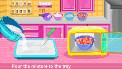 Strawberry Pops Cooking Games screenshot 5
