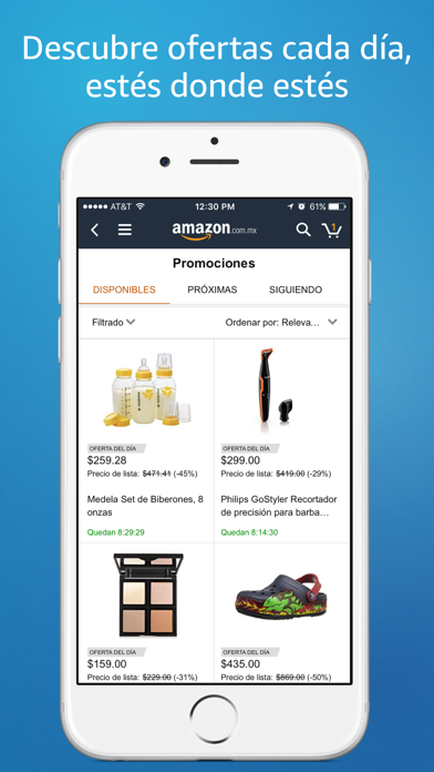 Screenshot for Amazon Compras en Línea in Peru App Store
