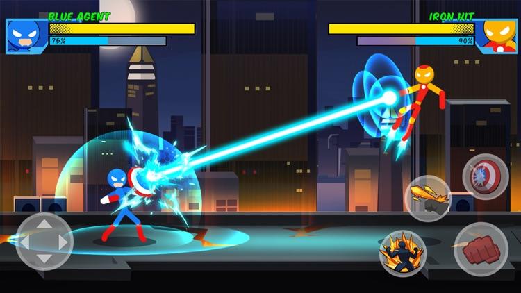 Stick Superhero: Offline Games