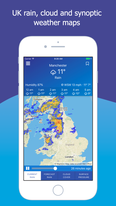 UK Weather Maps and Forecast screenshot one