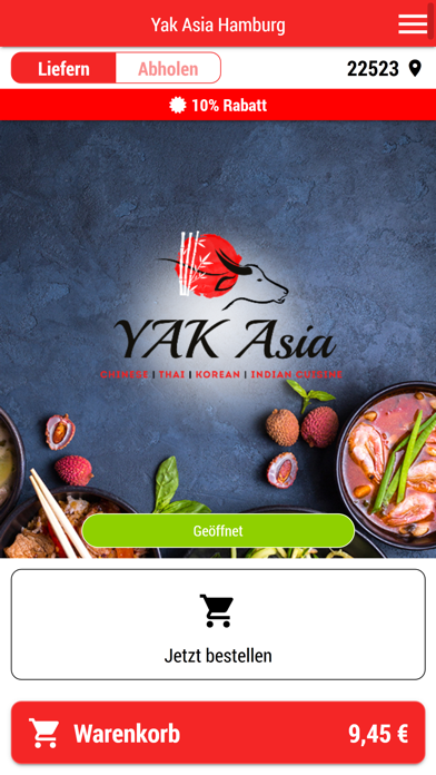 Yak Asia Hamburg screenshot one