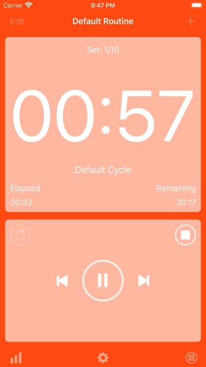 HIIT Interval Timer screenshot-3