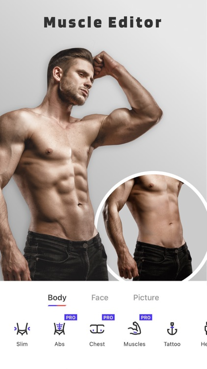 Body Editor : Manly Body&Hair