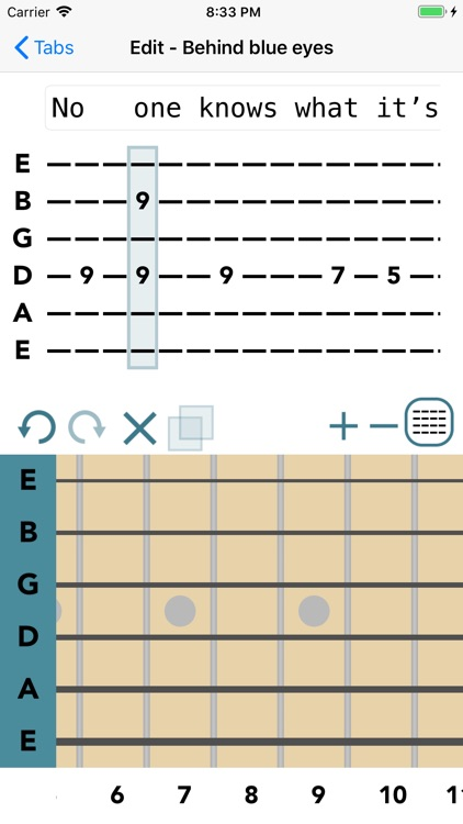 Guitar Tab Maker by Kyle Gorlick