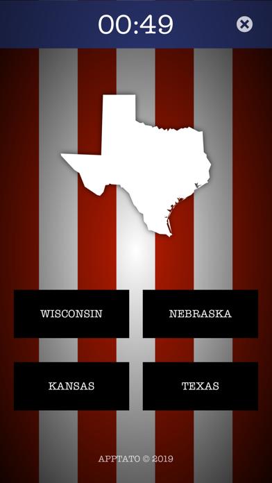 US States Test screenshot three