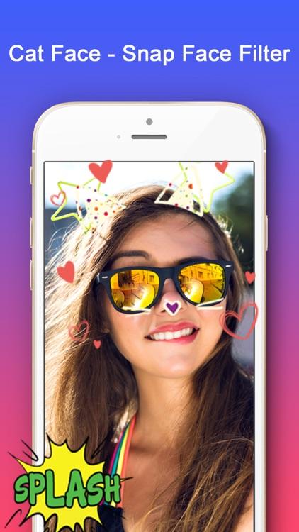 Cat Face - Snap Face Filter screenshot-3