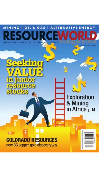 Resource World Magazine screenshot-8