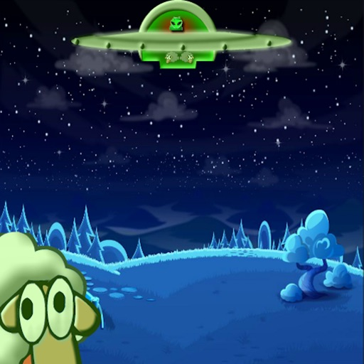 Sheep Aliens - UFO Escape