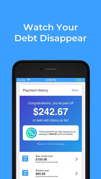 Qoins: Pay Off Debt Faster screenshot-6