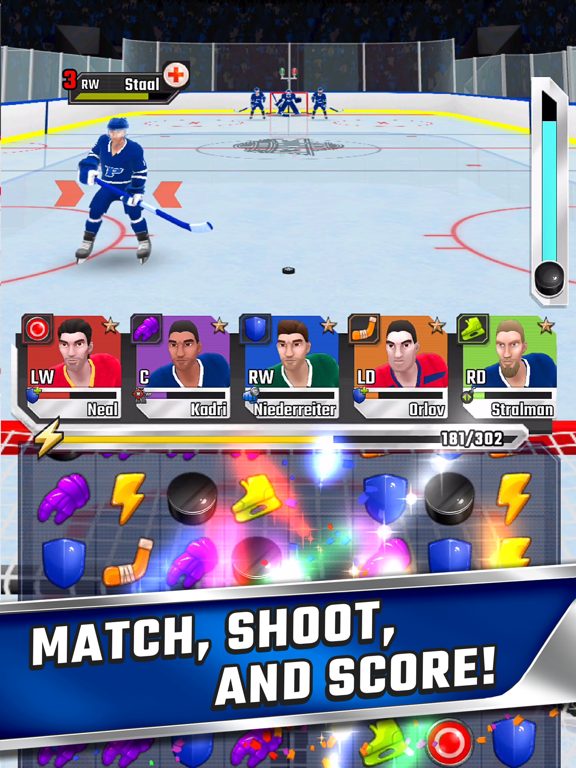 Puzzle Hockey screenshot 2