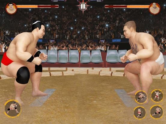 Sumo Games : Japan Wrestlingのおすすめ画像5