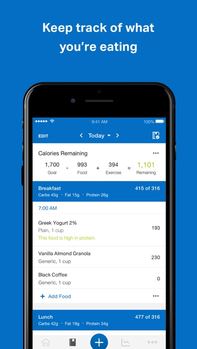 Screenshot for MyFitnessPal in Ukraine App Store
