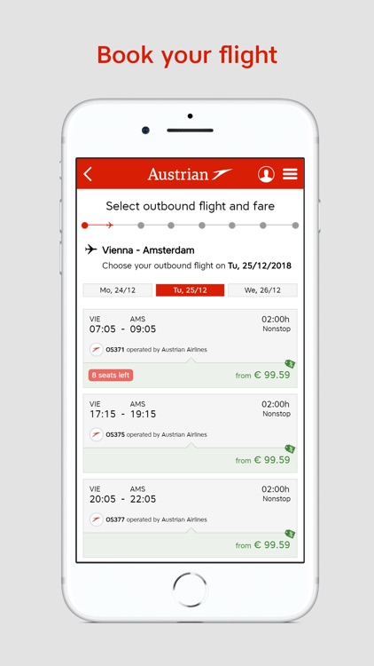 Austrian Airlines screenshot-2
