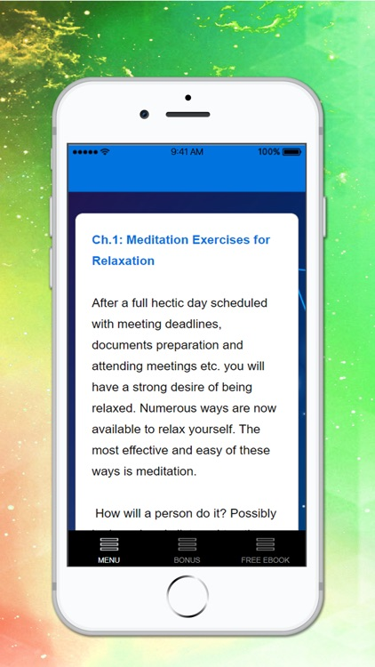 Relaxation Meditations screenshot-3