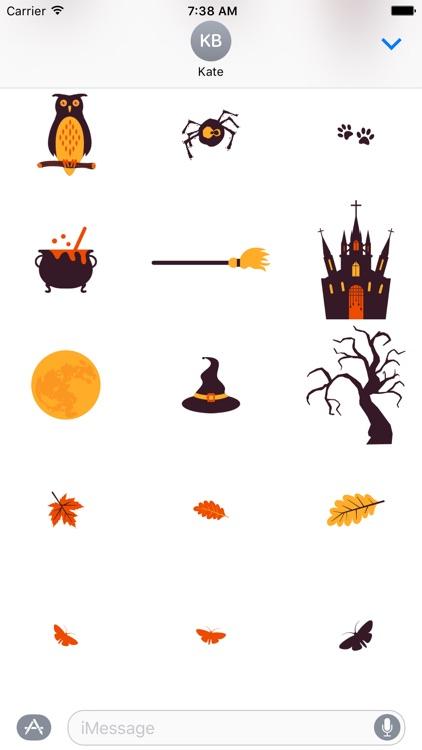 Halloweenie Stickers screenshot-3