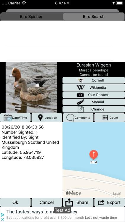 Big Year Birding GB screenshot-3