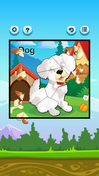 Chibi Animals Jigsaws Puzzles screenshot-3