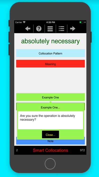 Smart Collocations screenshot-6