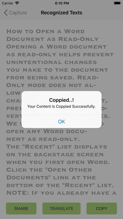 Quick Photo Scan & Translate screenshot-4