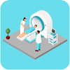 Andrew Marcin - Social for Two Point Hospital アートワーク