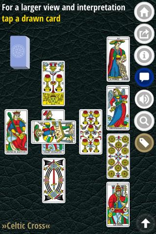 CBD Marseille Tarot Cards Love - náhled