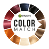 Garnier COLOR MATCH Hair tryon