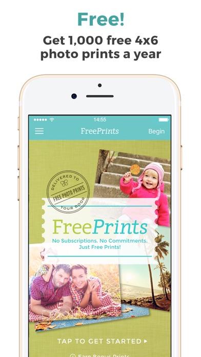 FreePrints – Photos Delivered app image