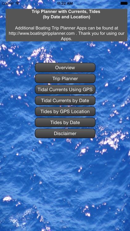 East Cst Planr +Currents+Tides