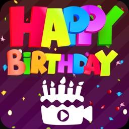 Video Maker Birthday Slideshow
