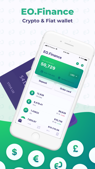 EO.Finance: Crypto Wallet - 窓用