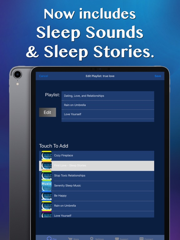 Dating & Love Sleep Meditation Screenshots