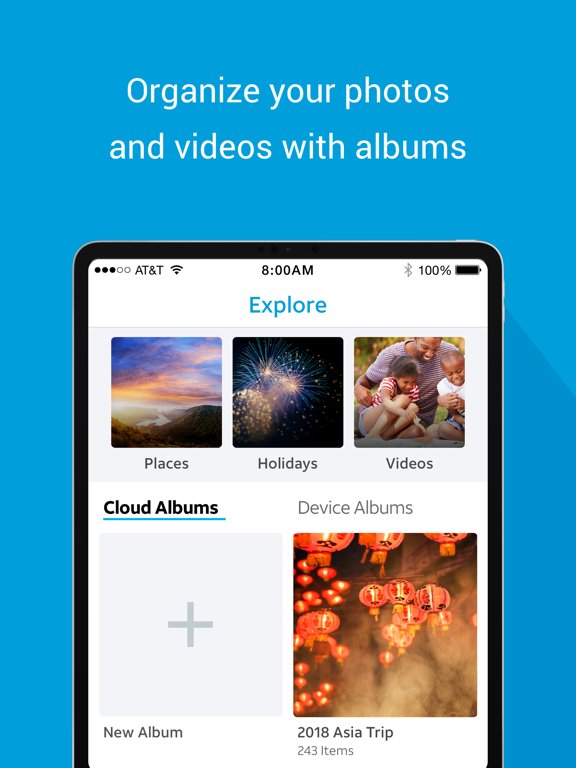 AT&T Photo Storage screenshot