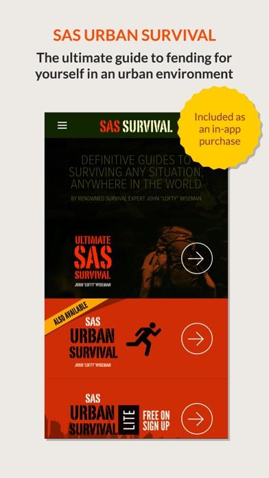 SAS Survival Guide - Lite Screenshot