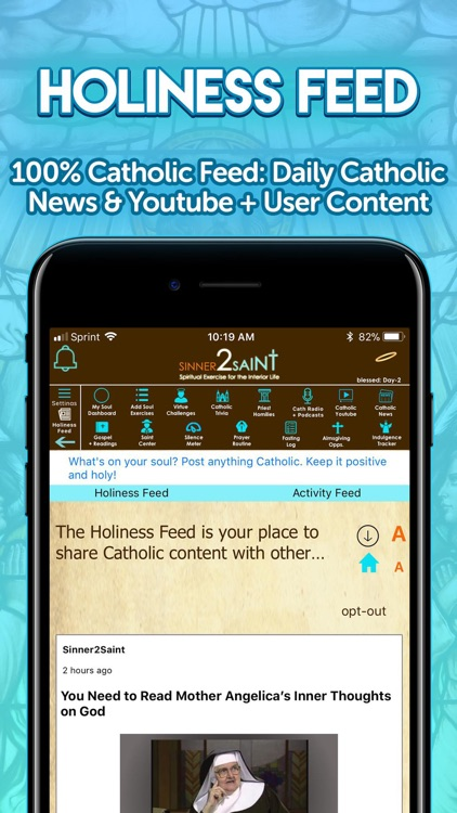 Sinner2Saint Best Catholic App