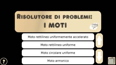 Screenshot of Risolutore di problemi: i Moti1