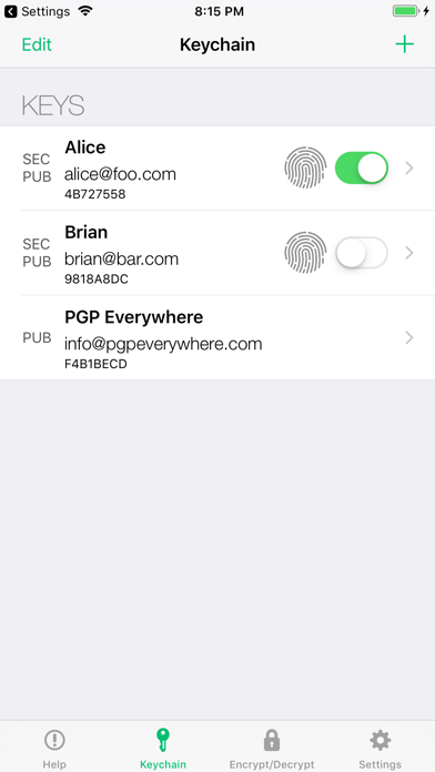 PGP Everywhere by Future Spin Software, LLC (iOS, United States
