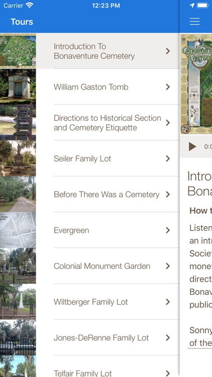 Bonaventure Cemetery Tours screenshot-2