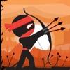 小黑人弓箭手-休闲射箭小游戏