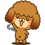 Cute Poodle Sticker Pack