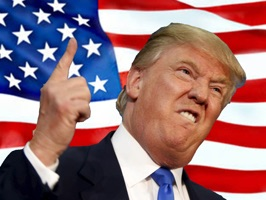 Trump Stickers.